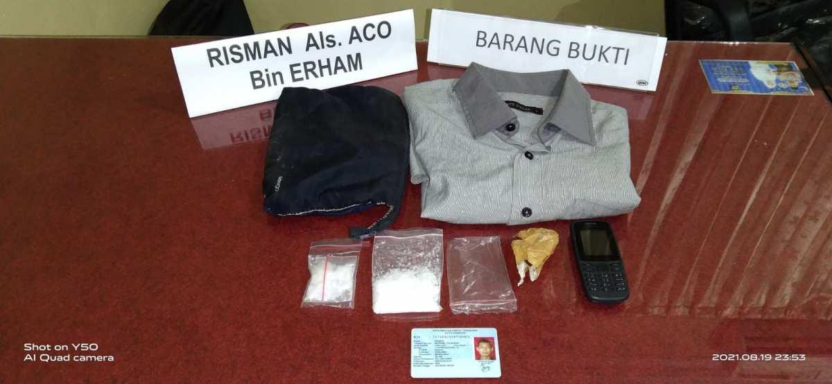 Polisi Ringkus Kurir Narkoba dengan Barang Bukti Sabu 30,85 Gram di Kendari