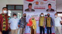 Gerindra Bantu Percepatan Vaksinasi di Sultra, Salurkan 3000 Dosis Vaksin