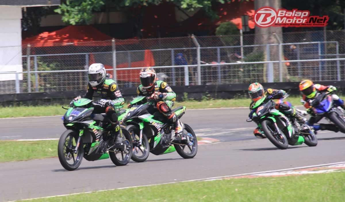 Rider ASR Sultra Racing Team Raih Waktu Tercepat di Kualifikasi OP1 Oneprix 2021