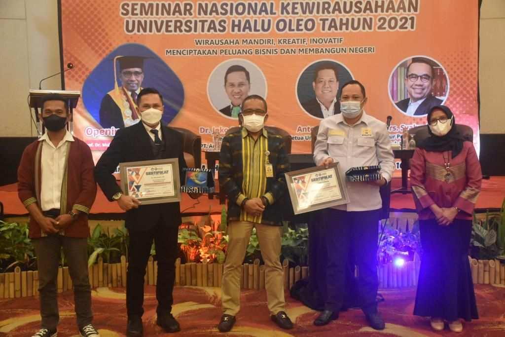UPT PK2M Berikan Pembekalan Kewirausahaan kepada 780 Mahasiswa Baru UHO