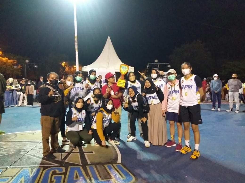 Tim Basket RPM ASR Putri Juarai Miracle Cup 1, dan Raih MVP