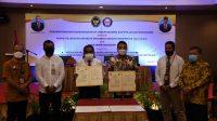UHO Teken MoU dan Kerjasama dengan Komisi Kejaksaan RI